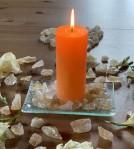 Andělská čakrová svíce - 2. čakra