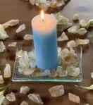 Andělská čakrová svíce - 5. čakra
