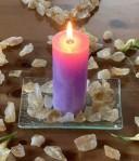 Andělská čakrová svíce - 6. čakra