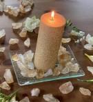 Andělská čakrová svíce - 7. čakra