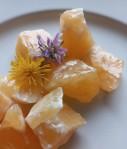 Kalcit oranžový - surový