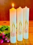 Svíce Božský lotos