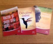 3 knihy pro získání odvahy